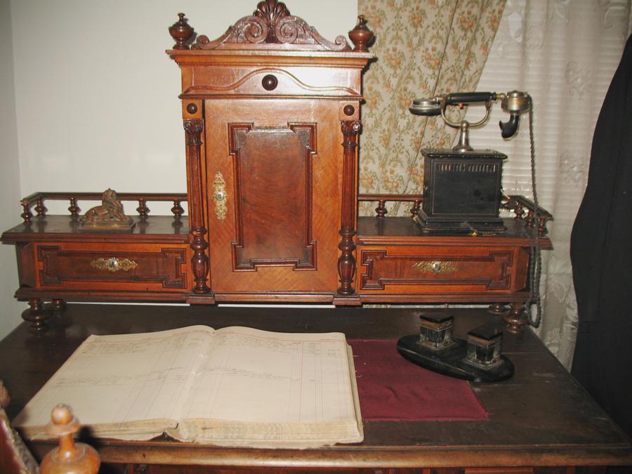 Писалището на търговеца.. Снимка: Ива Кръстанова