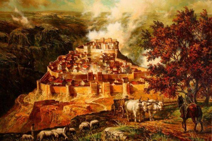 Средновековният град Червен