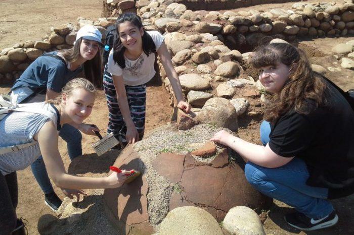 """Ученици от 125 СУ """"Боян Пенев"""" тръгнаха по стъпките на големите български археолози"""