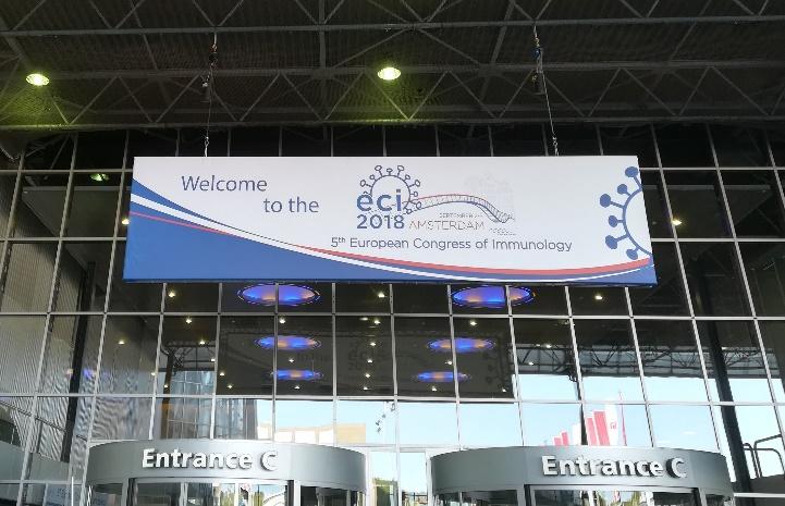 Конгресът се проведе в Amsterdam RAI Exhibition and Conventional Centre. Снимка: Гинка Николова