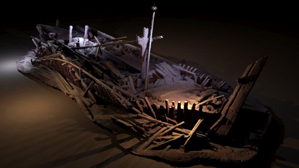 Останки от кораб от Османската епоха, открит на дълбочина 350 м. Black Sea MAP/EEF Expeditions