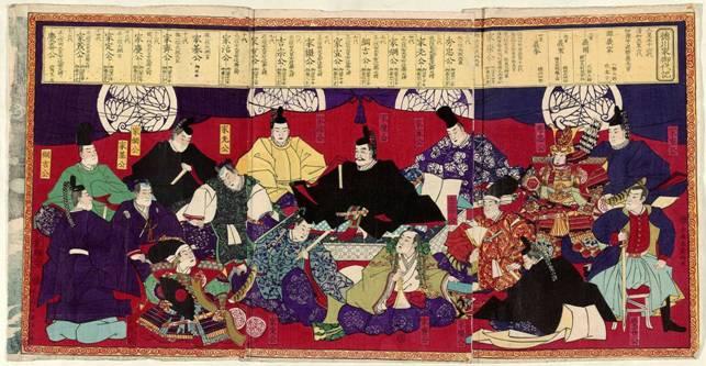 Разкази за социалната динамика/ Разказ №7: Япония – От Аматерасу Омиками до Кейрецу и по-нататък