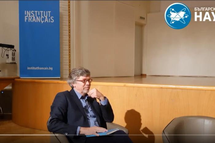 [ВИДЕО] Проф. Жан-Мишел Бение | Поставят ли под заплаха езика новите технологии?
