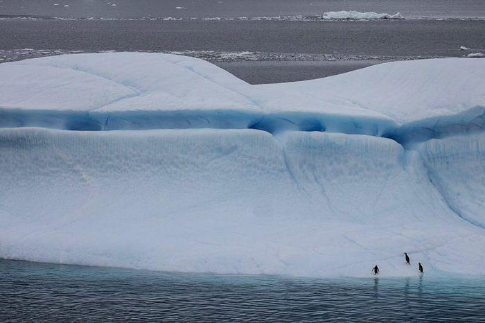 Айсбергите забавят бъдещото затопляне на Южното полукълбо