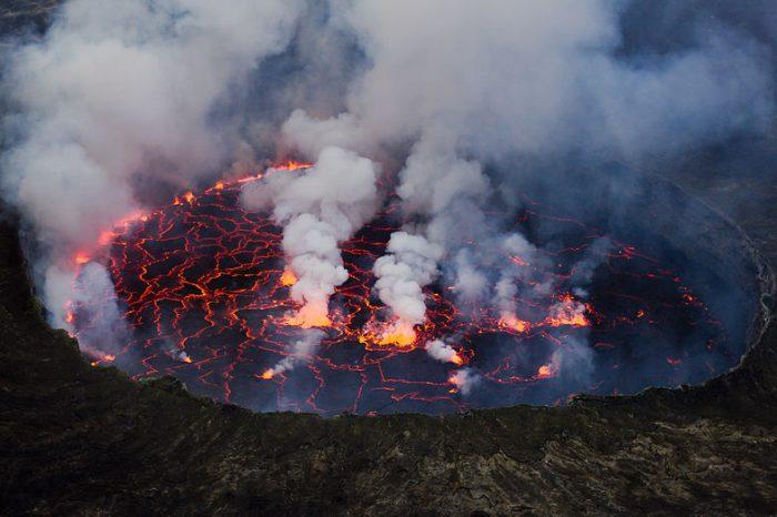 Юрски вулканичен свят открит в Централна Австралия