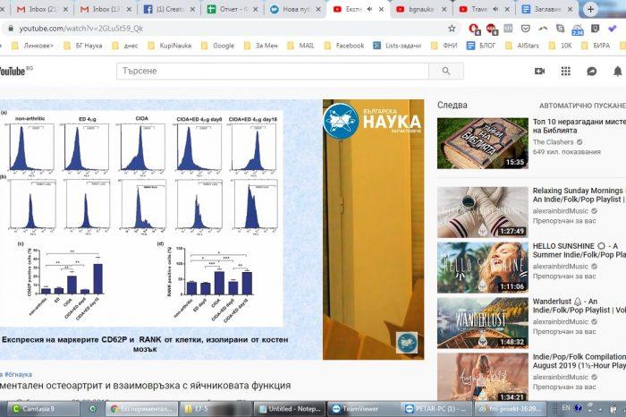 Проект: Експериментален остеоартрит и взаимовръзка с яйчниковата функция: влияние на естрадиол и фоликулостимулиращ хормон