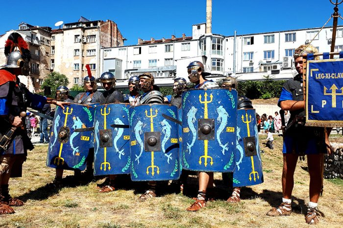 """Първият по рода си античен фестивал """"Сердика е моят Рим"""""""