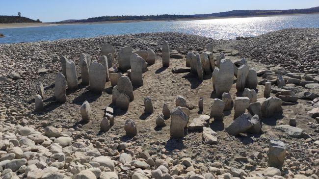 Испанският Стоунхендж за първи път от 50 години се появи над водата