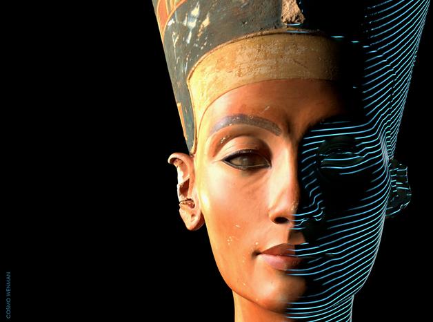 След дълга правна битка ЗD изображенията на бюста на Нефертити вече достъпни за свободно споделяне в интернет