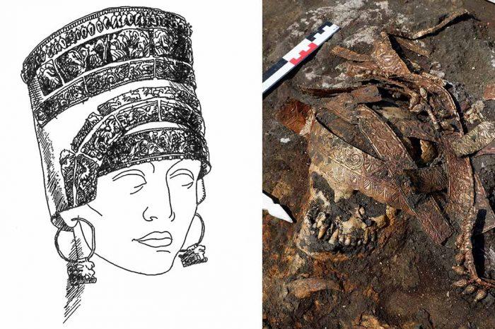 Археолози откриха погребение на скитска амазонка с изключително ценни накити