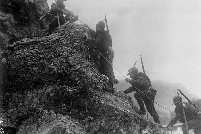 Италианският фронт през Първата световна война