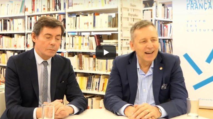 """г-н Клод Шасен и проф. д-р Григор Горчев за събитието """"Да бъдеш жив"""" - влог/подкаст"""