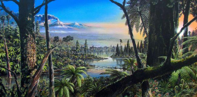 Останки от дъждовни гори на 90 милиона години, открити под ледовете на Антарктида