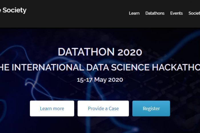 [ПОДКАСТ] Datathon - 15-17 May 2020