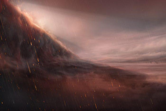 От небесата на планетата WASP 76b може би вали метал