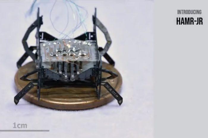 Робот-хлебарка от ново поколение – мъничък, но могъщ