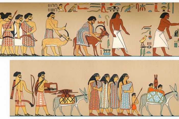 """""""Инвазия"""" в Древен Египет може всъщност да се окаже имигрантско надигане"""