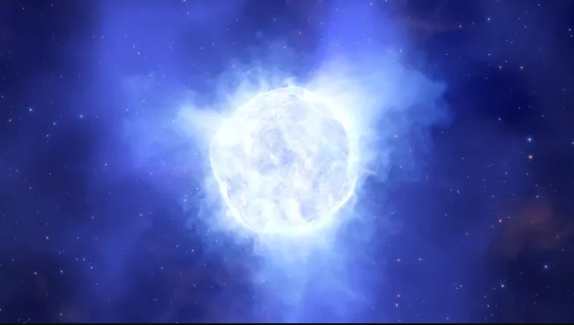 """""""Чудовищна"""" звезда, 2 милиона пъти по-ярка от Слънцето,изчезва без следа"""