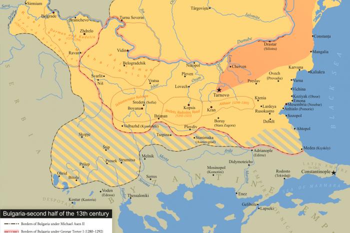 Българските боляри с кумански произход Дърман и Куделин