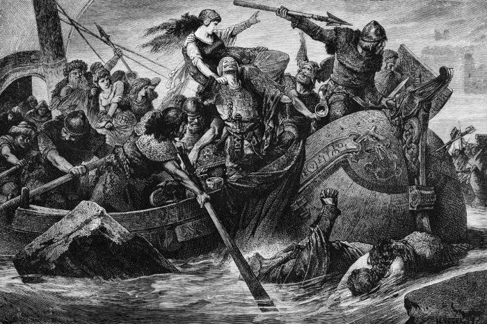 Едра шарка от епохата на викингите усложнява историята на вирусната еволюция
