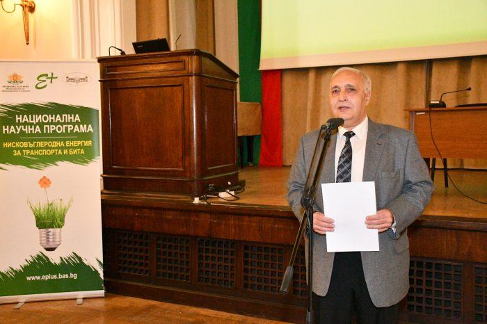 Проф. Константин Хаджииванов: Най-същественото сега е властимащите да осъзнаят необходимостта от развитието на науката
