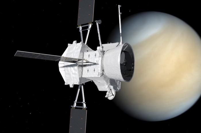 Космическият апарат BepiColombo премина покрай Венера по пътя си към Меркурий