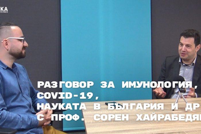 [ПОДКАСТ] Разговор за имунология, covid-19, науката в България и др.
