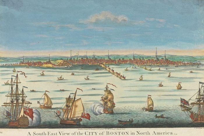 Въвеждането на инокулацията през 1721 г.