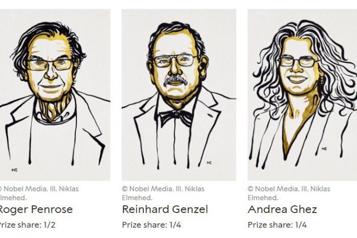 Нобеловата награда за физика 2020 и черните дупки