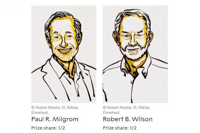 Нобеловата награда за икономически науки 2020 г