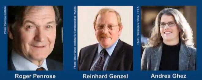 Какво откриха за черните дупки тримата лауреати, споделящи тазгодишната Нобелова награда за физика?