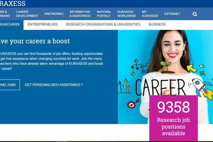EURAXESS - работа и финансиране