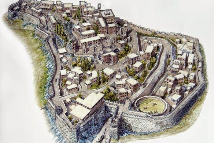Дворецът в Микена