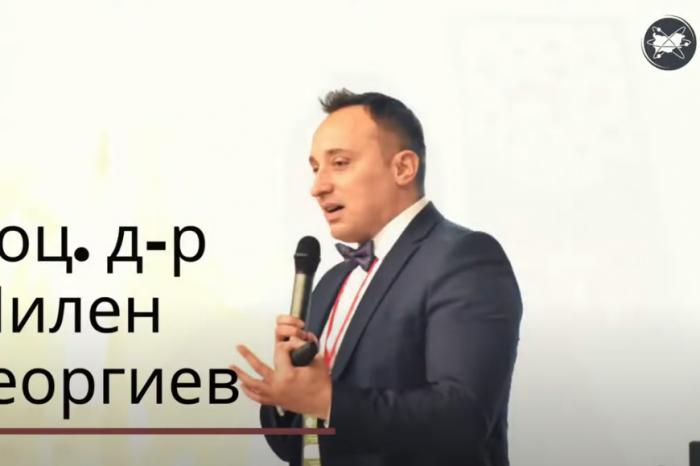 """Доц. д-р Милен Георгиев с три награди за наука """"Питагор"""""""