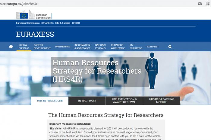 EURAXESS – Харта и Кодекс на европейските учени