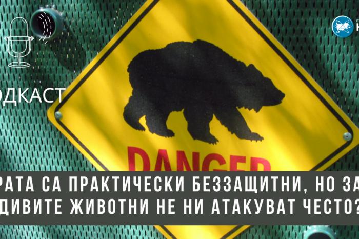 [ПОДКАСТ] Хората са практически беззащитни, но защо дивите животни не ни атакуват често?