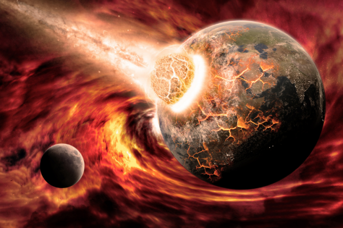 Остатък от протопланета може да се крие вътре в Земята