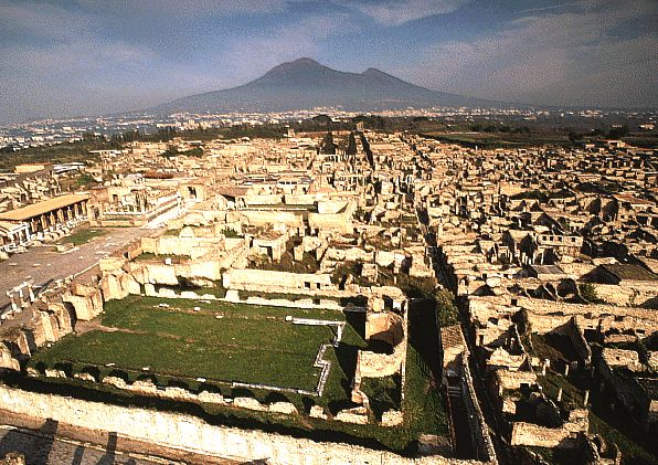 Гладиaторска сграда в останките от древния Помпей се срутила