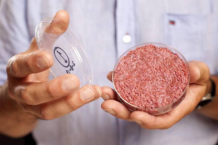 Първият лабораторно направен хамбургер