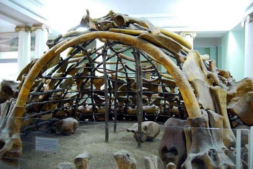 Неандерталците строили от кости на мамути