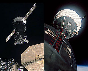 Половин век измина от първата среща в космоса!