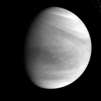 Първи висококачествени снимки на Венера от Акатсуки!