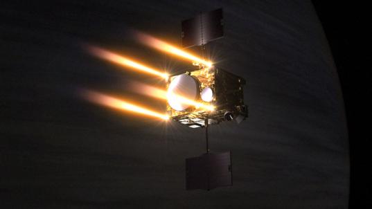УСПЕХ! Акатсуки изпълни маневра за влизане в орбита!