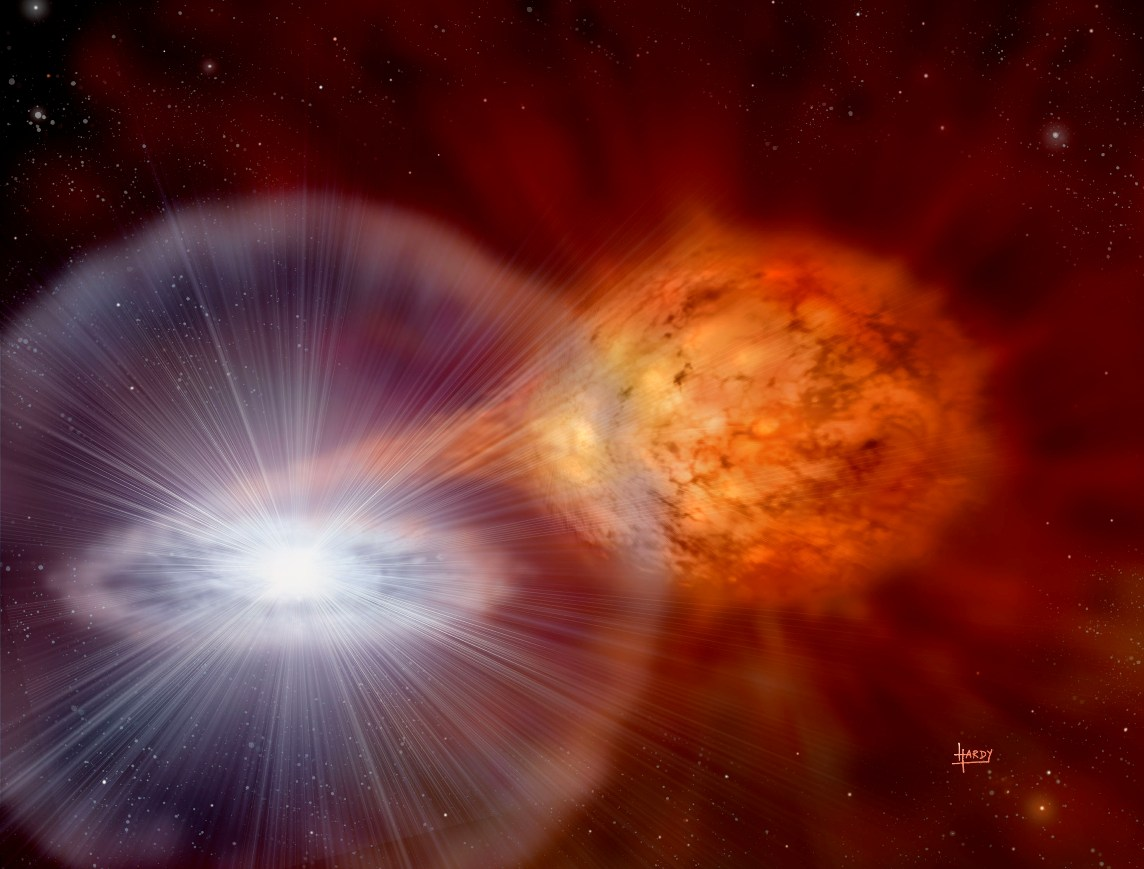 Български астрономи засякоха рядък космически обект в галактиката Андромеда