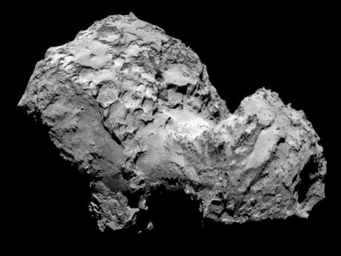 Rosetta детектира наличие на кислород в атмосферата на кометата 67P
