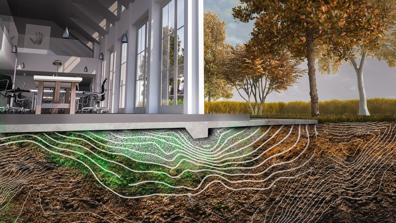 """""""Мислеща почва"""" от бактерии може да предпазва сгради от срутване"""