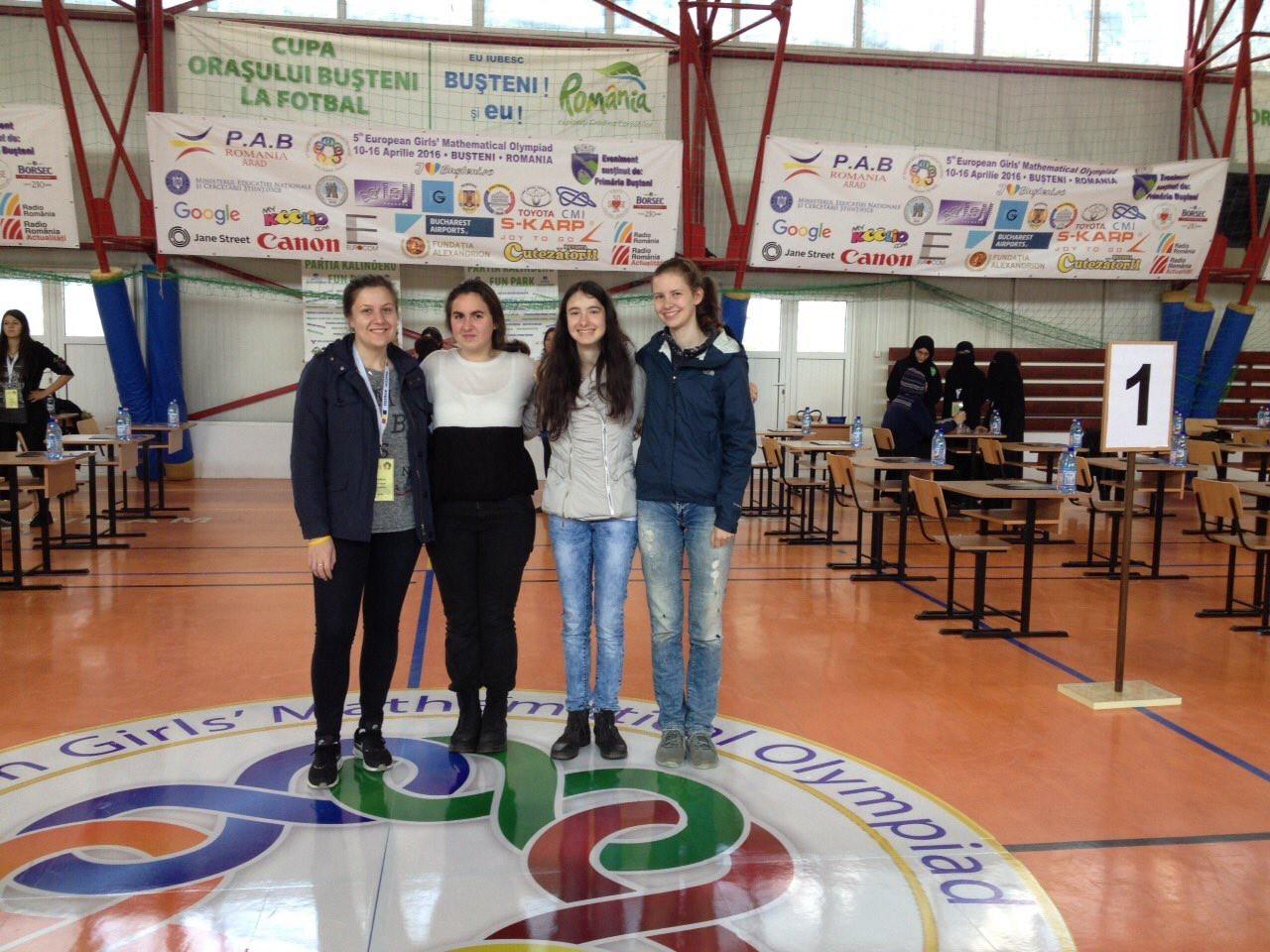 Четири медала за България на петата европейска олимпиада по математика за момичета