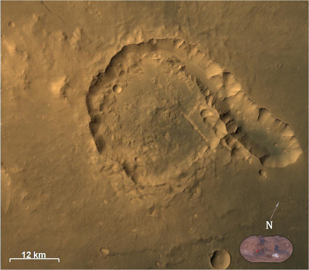 Индийската мисия засне странни структури на Марс
