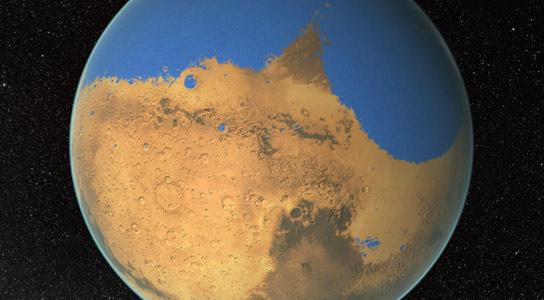 Античният океан на Марс