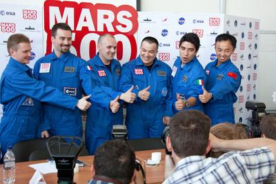 """Третата симулирана мисия до Марс се """"връща"""" на Земята"""